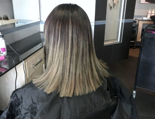 She wanted a healthy balayage ombre'