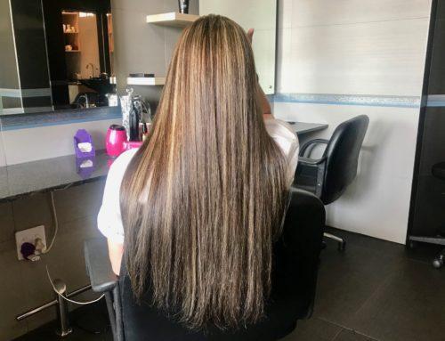 Ooh la la! Her hair is Mocha!